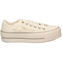 Schoenen Dames Lage sneakers All Star CTAS CLEAN LIFT OX whimo-bianco-grigio