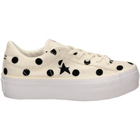 Schoenen Dames Lage sneakers All Star ONE STAR PLATFORM OX egbla-bianco-nero