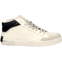 Schoenen Heren Hoge sneakers Crime London ALCATRAZ white-bianco