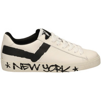 Schoenen Heren Lage sneakers Pony TOP STAR OX f1-bianco-nero