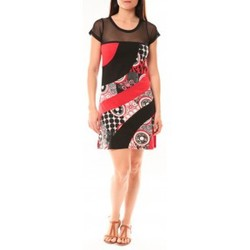 Textiel Dames Korte jurken Bamboo's Fashion Robe BA1515 Rouge Rood