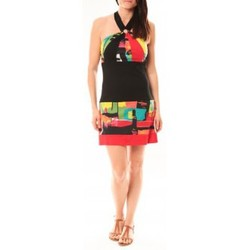 Textiel Dames Korte jurken Bamboo's Fashion Robe BA1517 Rouge Rood