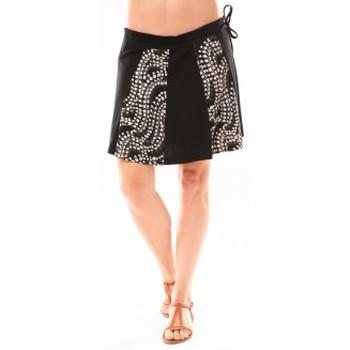 Textiel Dames Rokken Bamboo's Fashion Jupe BA1547 Gris Grijs