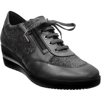Schoenen Dames Lage sneakers Mobils By Mephisto Patrizia leer grijs
