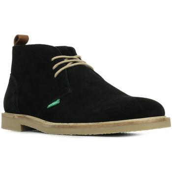 Schoenen Heren Laarzen Kickers Tyl Zwart