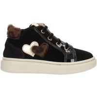 Schoenen Kinderen Hoge sneakers Nero Giardini A921212F Black