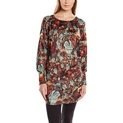 Textiel Dames Korte jurken Custo Barcelona Robe Lanna Bloom Groen