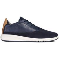 Schoenen Heren Lage sneakers Geox U Aerantis A Blauw