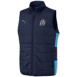 Textiel Heren Dons gevoerde jassen Puma  Blauw