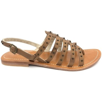 Schoenen Dames Sandalen / Open schoenen Nice Shoes sandales marron Bruin