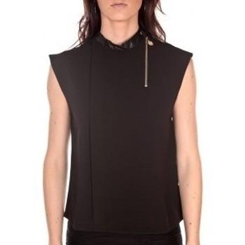 Textiel Dames Tops / Blousjes By La Vitrine Débardeur  noir Zwart
