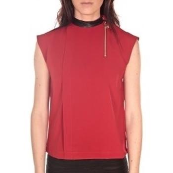 Textiel Dames Tops / Blousjes By La Vitrine Débardeur  Rouge Rood