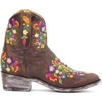 Schoenen Dames Laarzen Mexicana Bottines  Sorazipper Bruin