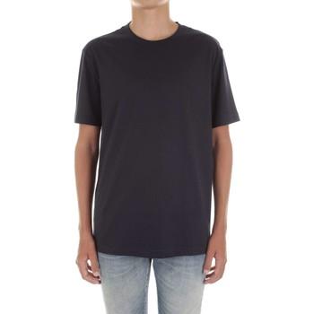 Textiel Heren T-shirts korte mouwen Calvin Klein Jeans K10K103333 Blu
