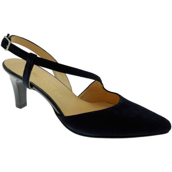 Schoenen Dames pumps Soffice Sogno SOSO9360bl blu