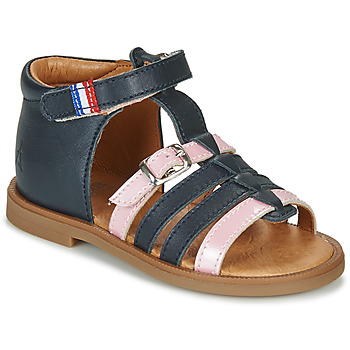 Schoenen Meisjes Sandalen / Open schoenen GBB GUINGUETTE Blauw