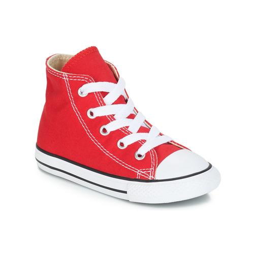 Schoenen Kinderen Hoge sneakers Converse CHUCK TAYLOR ALL STAR CORE HI Rood