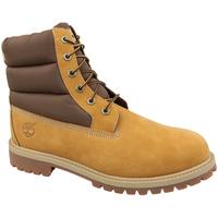 Schoenen Kinderen Wandelschoenen Timberland 6 In Premium Boot Jaune