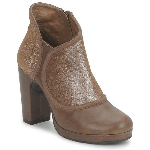 Schoenen Dames Low boots Esska TILLY Bruin / Pailletten