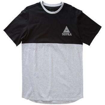 Textiel Heren T-shirts korte mouwen Supra  Grijs