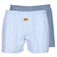 Ondergoed Heren BH's DIM BOXER FLOTTANT x2 Blauw