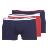Ondergoed Heren Boxershorts DIM DAILY COLORS BOXER x3 Blauw / Rood