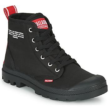 Schoenen Laarzen Palladium PAMPA HI DU C Zwart