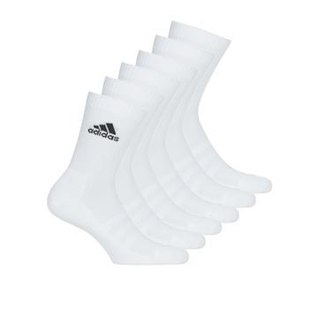 Accessoires Sportsokken adidas Performance CUSH CRW 6PP Wit