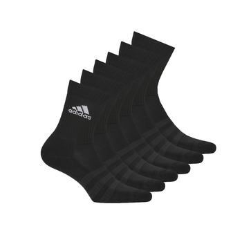 Accessoires Sportsokken adidas Performance CUSH CRW 6PP Zwart