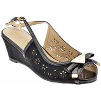 Schoenen Dames Sandalen / Open schoenen Laura Biagiotti  Zwart