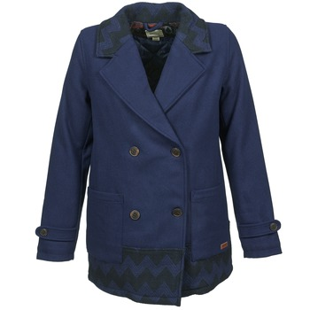 Textiel Dames Mantel jassen Roxy MOONLIGHT JACKET Marine / Zwart