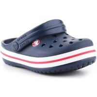 Schoenen Kinderen Klompen Crocs Crocband clog 204537-485 navy
