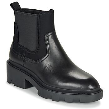 Schoenen Dames Enkellaarzen Ash METRO Zwart