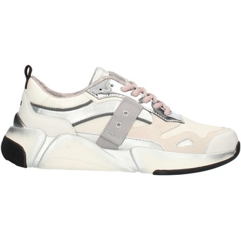 Schoenen Dames Lage sneakers Blauer 9FMONROE01 White and silver