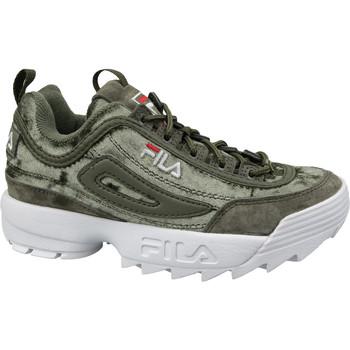 Schoenen Dames Lage sneakers Fila Disruptor S Wmn Low Vert
