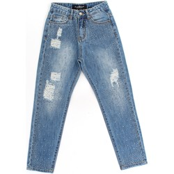 Textiel Meisjes Skinny Jeans Richmond Kids RGA19295JE Blue Denim