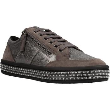 Schoenen Dames Lage sneakers Geox D LEELU' Bruin
