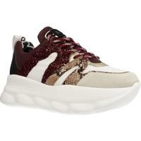 Schoenen Dames Lage sneakers Meline OP402 Rood