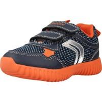 Schoenen Jongens Lage sneakers Geox B WAVINESS B Blauw