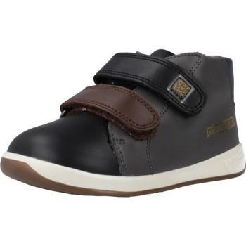 Schoenen Jongens Hoge sneakers Garvalin 191313 Zwart
