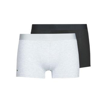Ondergoed Heren Boxershorts Lacoste 5H3378-SNP Zwart / Grijs / Gevlekt