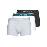 Ondergoed Heren Boxershorts Lacoste 5H3389-NUA Zwart / Wit / Grijs