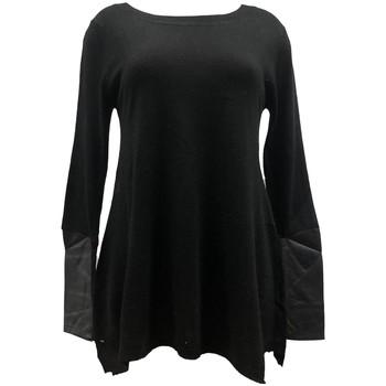 Textiel Dames Truien Vision De Reve Vision de Rêve Pull 12005 Noir Zwart
