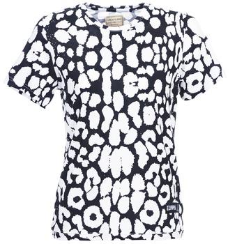 Textiel Dames T-shirts korte mouwen Eleven Paris BIRINA Zwart