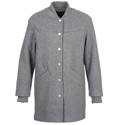 Textiel Dames Mantel jassen Eleven Paris PARC Grijs