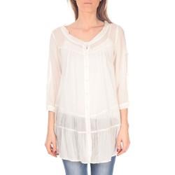 Textiel Dames Tunieken Vision De Reve Tunique women 7055 Ecrue Beige