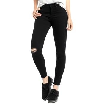 Textiel Dames Jeans Lois denim black lua 205312882 Zwart