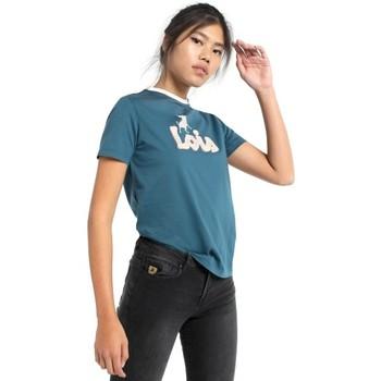 Textiel Dames T-shirts korte mouwen Lois camiseta toro 420212045 Blauw