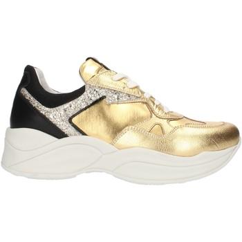 Schoenen Dames Lage sneakers Nero Giardini A909072D Gold and black