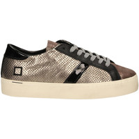 Schoenen Dames Lage sneakers Date HILL DOUBLE ROOF LAMINATED piombo